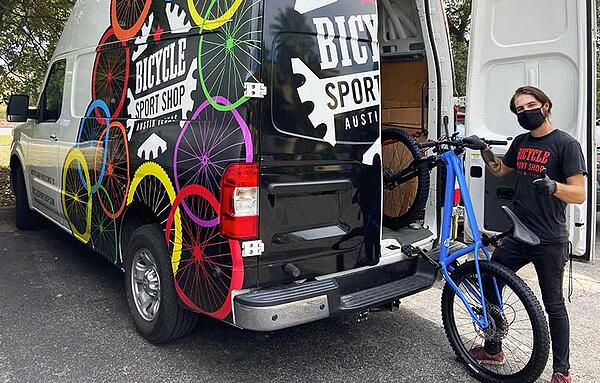 Bicycle Sport Shop Delivery
